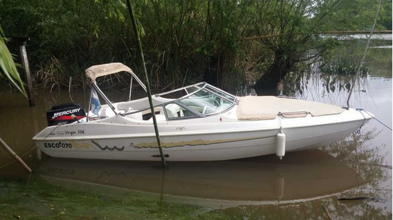 Lancha Open Virgin Marine 506 Con Mercury 60 Hp 2t Completa!