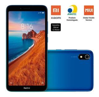 Celular Xiaomi Redmi 7a 32gb 2gb Ram 12mp Tela 5.45 Azul