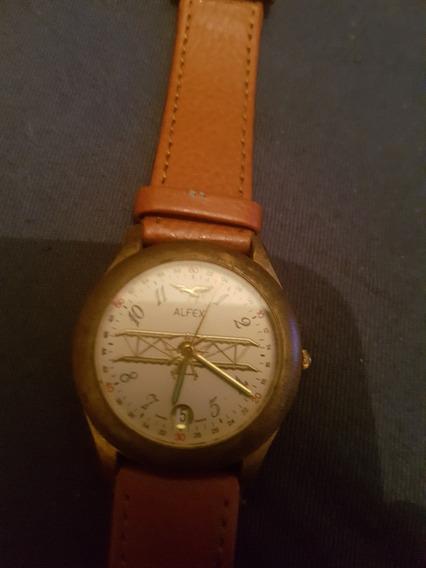 Reloj Alfex Edicion Naval De Coleccion Suizo