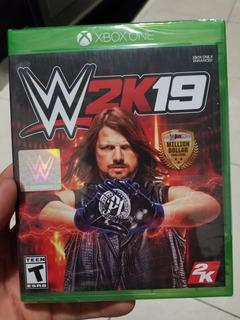 Wwe 2k19 W2k19 Xbox One Nuevo Sellado Fisico En Beyond_trc