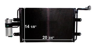 Condensador Vw Jetta A4/clasico 99-15