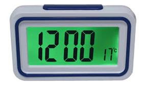 Relógio Despertador Fala Hora Português Deficiente Visual