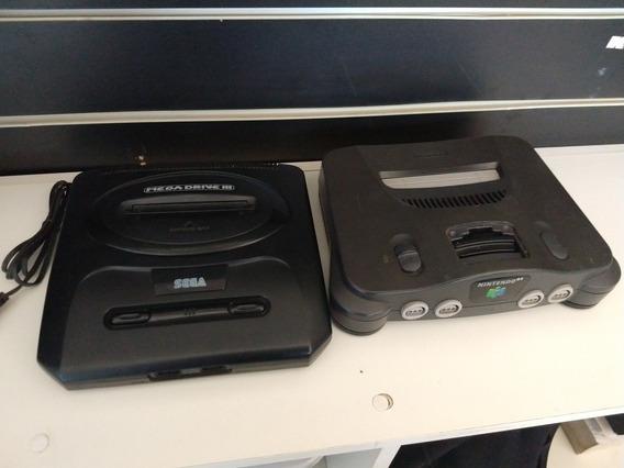 Mega Drive E Nintendo 64 No Estado