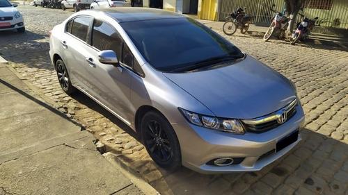 Imagem 1 de 10 de Honda Civic 2014 2.0 Lxr Flex Aut. 4p