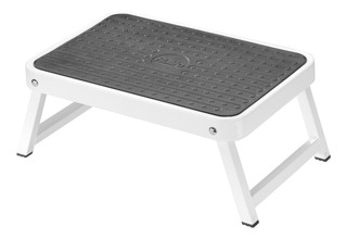 Hailo 9204015506 Onestep Steel Folding Step Stool, In In Whi