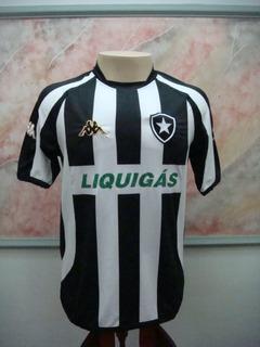 Camisa Futebol Botafogo Rio Janeiro Kappa Jogo 2592