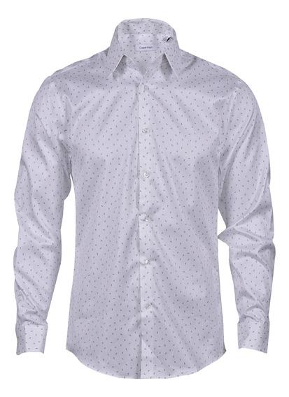 Camisa Calvin Klein Caballero Lila 17k4363-557