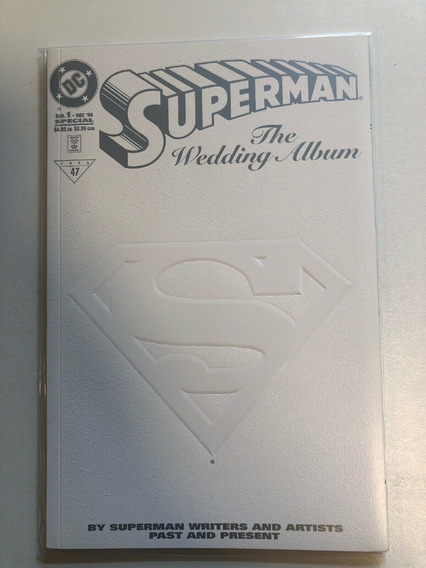 Super Homem Lois Lane Album De Casamento De 1996 Dc Comics