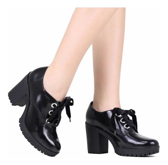 Sapato Feminino Via Marte Oxford 19-1501