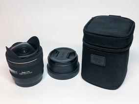 Lente Sigma 10mm F2.8 Ex Dc Fisheye Para Canon