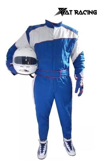Buzo Automovilismo Carrera Antiflama At Racing