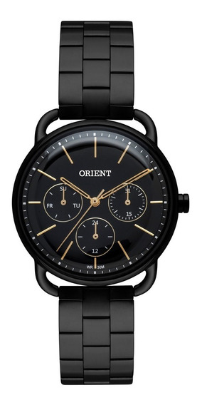 Relógio Orient Feminino Metal Preto Fpssm002 P1px