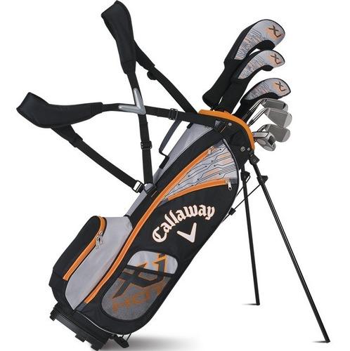 Golf Center Set Callaway Junior X Hot 5-8 Boy 8 Pcs