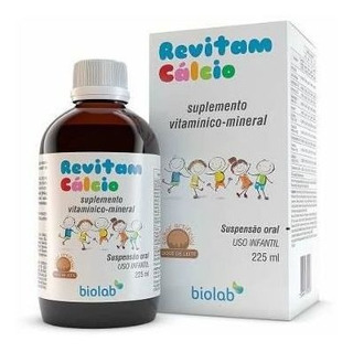 Revitam Calcio 225ml Sabor Laranja - Vitamina Infantil