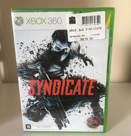 Syndicate - Xbox 360 - Mídia Física Original - Lacrado