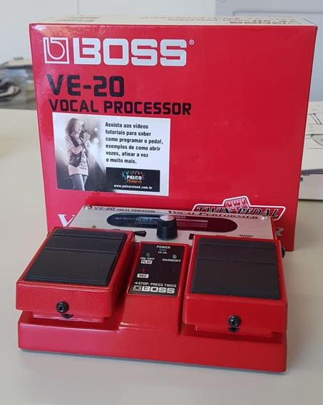Pedal Boss Ve 20 Vocal Processor