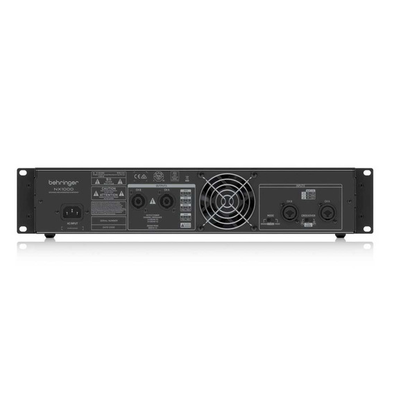 Behringer Nx1000 | Amplificador De Potencia 1000 Watts