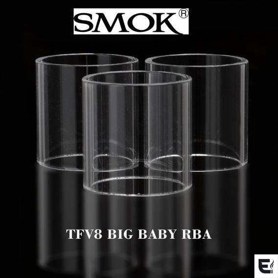 Vidro Reposição Tfv8 Big Baby Rba - 3 Unidades