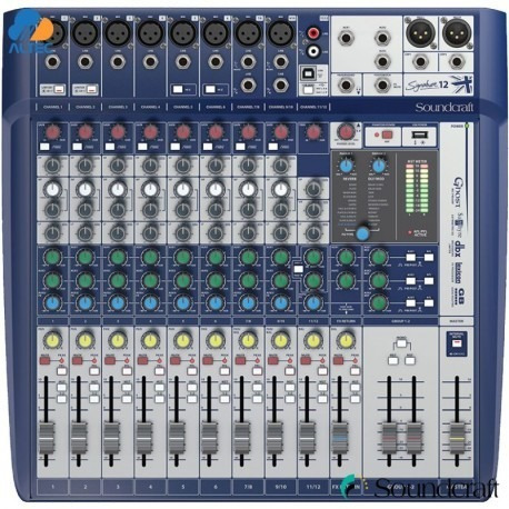Consola Soundcraft Signature 12 Canales Profesional