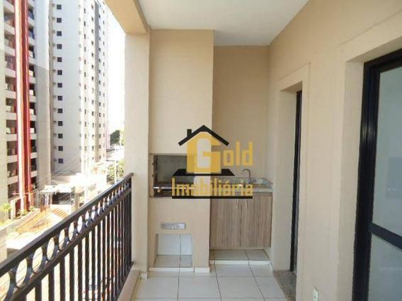 Apartamento Com 2 Dormitórios Para Alugar, 72 M² Por R$ 1.200/mês - Nova Aliança - Ribeirão Preto/sp - Ap1571