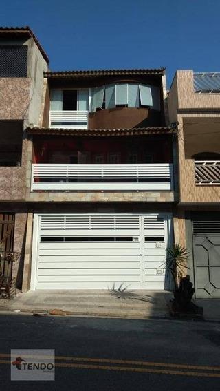Sobrado 210 M² - 4 Dormitórios - 2 Suítes - Cooperativa - São Bernardo Do Campo/sp - So0158