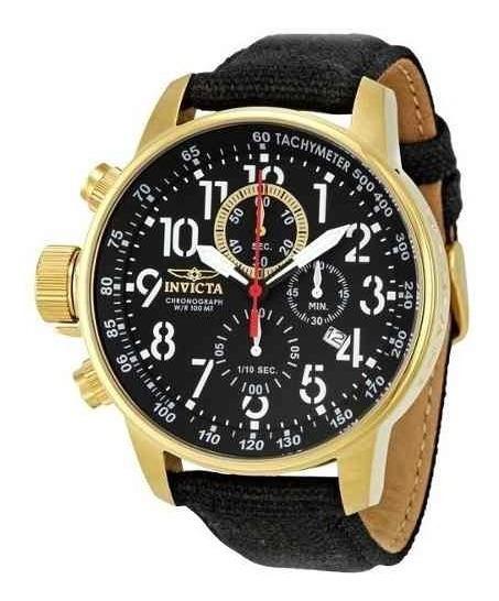 Relógio Invicta 1515 Force Original 18k Banhado Ouro