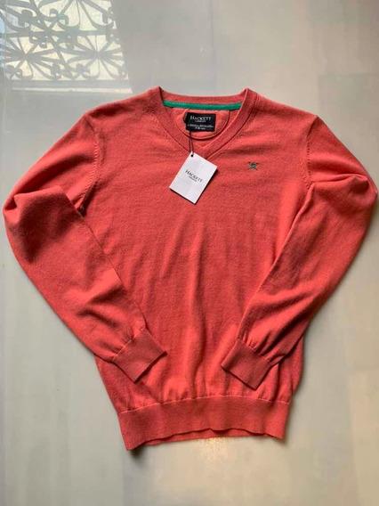 Sweater Hackett Para Niño Talla 9-10 Años Nuevo