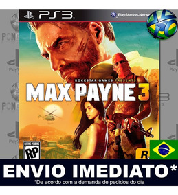 Max Payne 3 Ps3 Midia Digital Legendado Português Envio Já