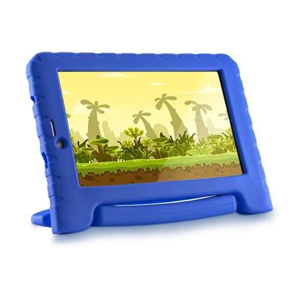 Tablet Infantil Para Joguinhos Multilaser Kid Pad Azul 3g