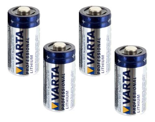 4 X Pilas Varta Cr-123a Cr123 Lithium 3v Sensor Alarma Casa
