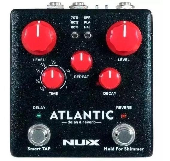Pedal Nux Atlantic Ndr-5 Delay, Reverb E Shimmer