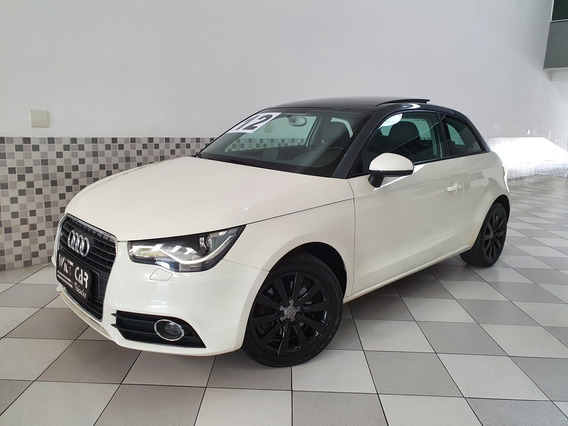 Audi A1 Attraction 1.4 16v 2012 Branco Teto Solar