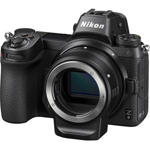 Nikon Z6 Mirrorless Camera Com Adaptador Ftz