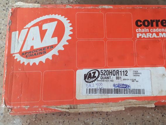 Corrente Vaz Com Retentor 520hor112 Suzuki Drz 250 Drz 400