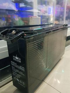 Batería De Gel Power Kingdom 150ah Nueva Car Audio