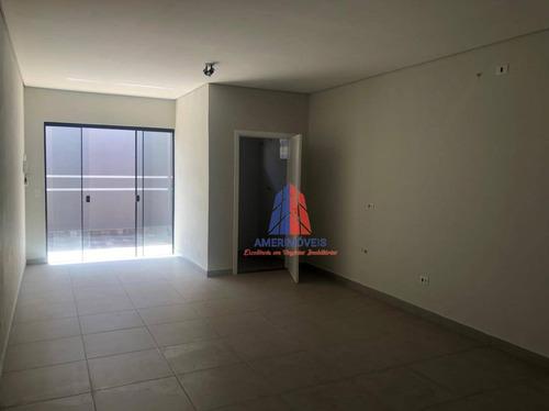 Imagem 1 de 7 de Sala Para Alugar, 35 M² Por R$ 900,00/mês - Antônio Zanaga Ii - Americana/sp - Sa0128
