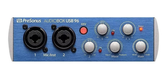 Presonus Audiobox Usb 96 Interface De Áudio Usb Similar 2i2