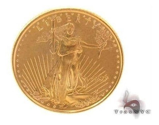Moneda De 5 Aguila Five Oro 1997