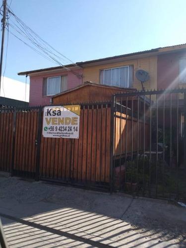 Vende Acogedora Casa, Sector El Rosal, Maipú