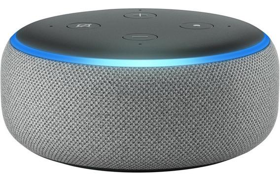 Alexa Echo Dot 3ª Geração Smart Speaker Amazon Português
