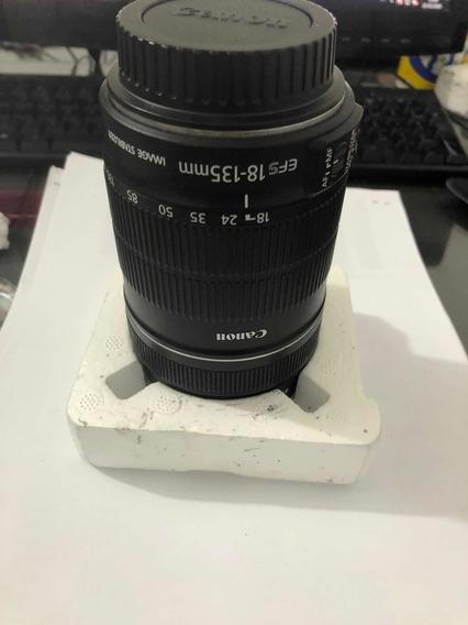 Lente Canon Efs 18-135mm Perfeita + Filtro