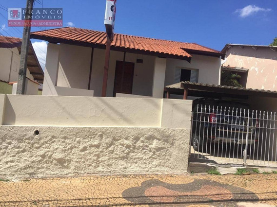 Casa Com 2 Dormitórios Para Alugar, 100 M² Por R$ 1.500/mês - Jardim Santana - Valinhos/sp - Ca0654