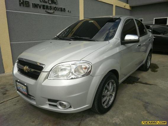 Chevrolet Aveo Lt Sincrónico 1.6