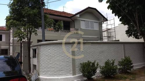 Sobrado Com 4 Dormitórios, 330 M² - Venda Por R$ 3.400.000,00 Ou Aluguel Por R$ 21.000,00 - Lapa - São Paulo/sp - So1781