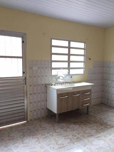 Casa À Venda, 250 M² Por R$ 721.000,00 - Vila Palmares - Santo André/sp - Ca1144