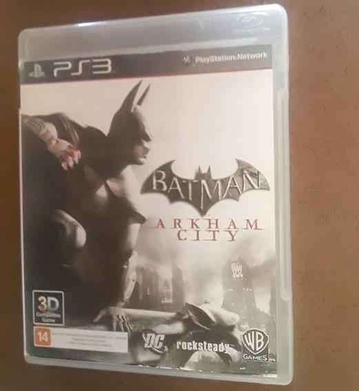 Batman Arkhan City Original Para Ps3