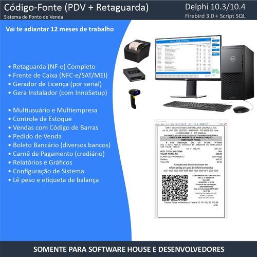 Imagem 1 de 10 de Código-fonte - Sistema Completo (nfe/nfce/sat/pdv) - Delphi