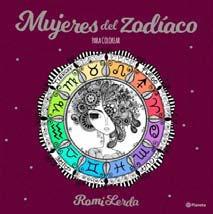 Mujeres Del Zodíaco Para Colorear - Romi Lerda