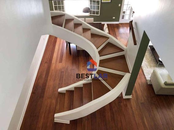 Casa Com 4 Dormitórios À Venda, 337 M² Por R$ 1.490.000 - Nova Higienópolis - Jandira/sp - Ca0844