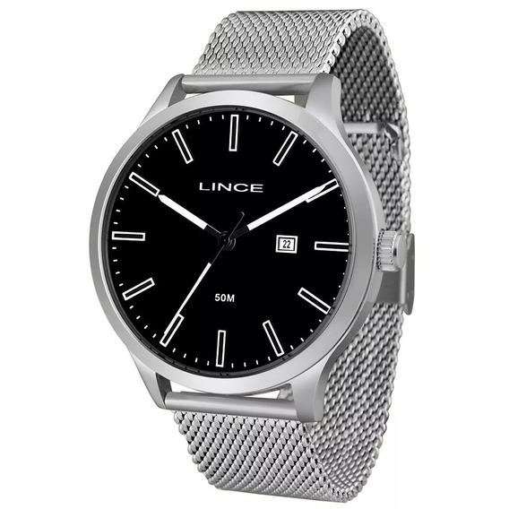 Relógio Lince Masculino Prata - Mrm4494s P1sx